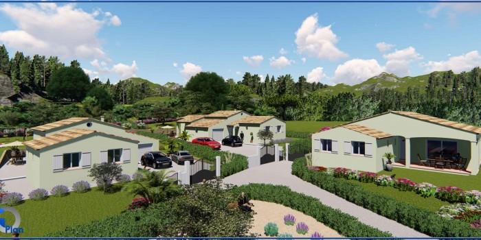 Lotissement « Gossart » sur les hauteurs de Draguignan à Montferrat (var)