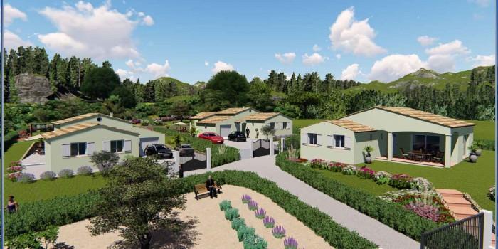 Vidéo animation 3D Lotissement « Gossart » sur les hauteurs de Draguignan à Montferrat (var)