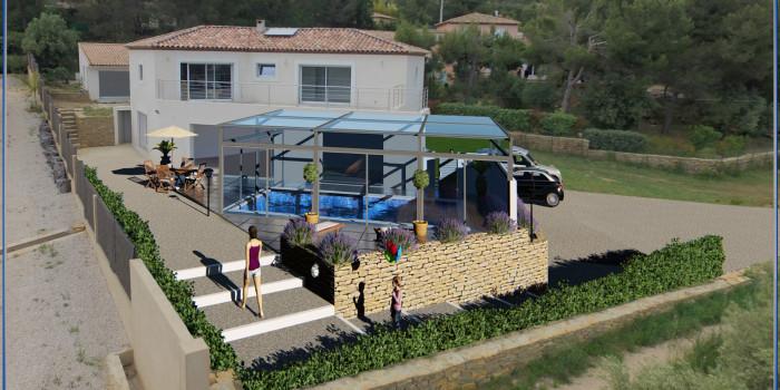 Déclaration Préalable pour une piscine La Cadière d'Azur (Var)