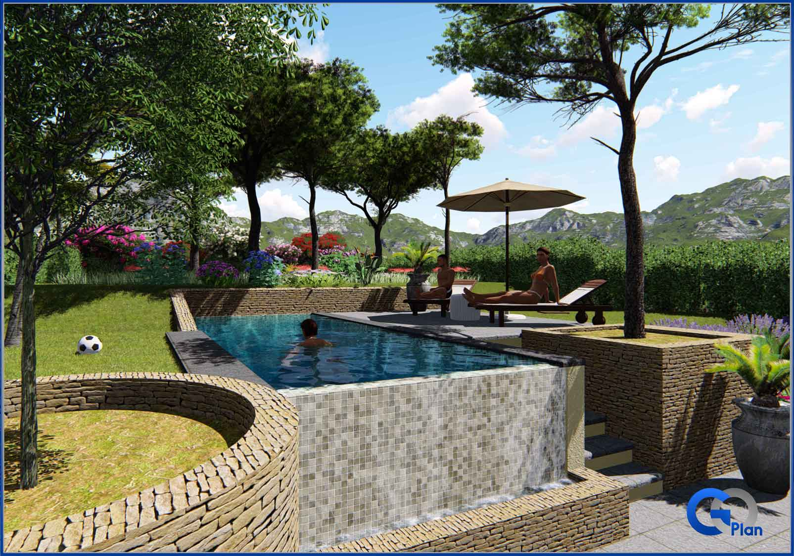 Maison individuelle six fours les plages var goplan for Piscine six fours