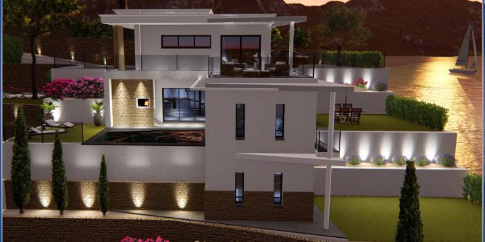 Vidéo animation 3D Villa La Ciotat (Bouche du Rhône)